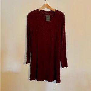 ATM Long Sleeve Cotton Dress. NWT. Retail- $200
